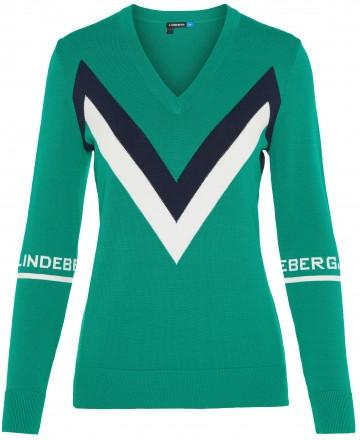 J.Lindeberg Celine Pullover, green
