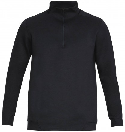 Under Armour Storm Playoff 1/2 Zip, black/gray