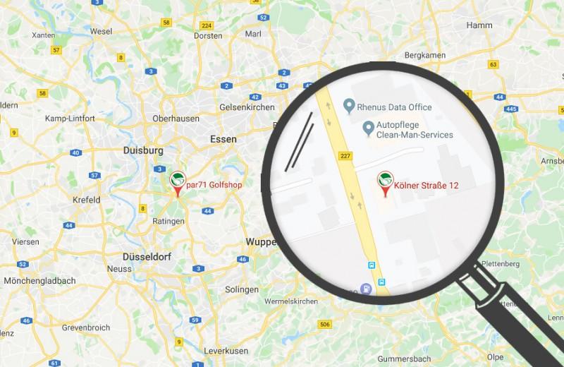 Karte in Google Maps öffnen