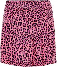 J.Lindeberg Thea TX Jersey Skort, pink leopard