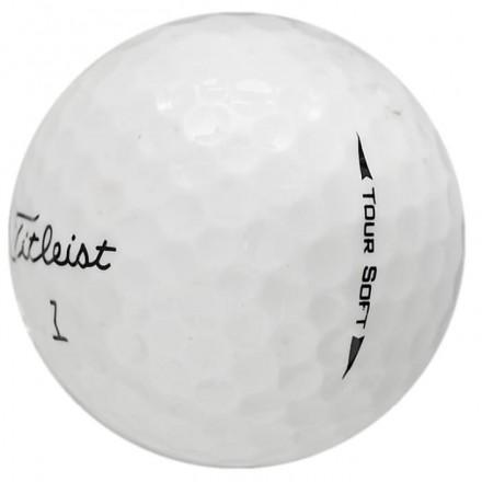25 Titleist Tour Soft Lakeballs, white