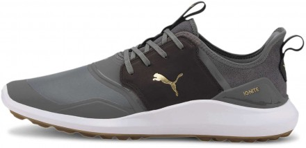 Puma Ignite NXT Crafted Golfschuh, quiet shade Golfschuh, black