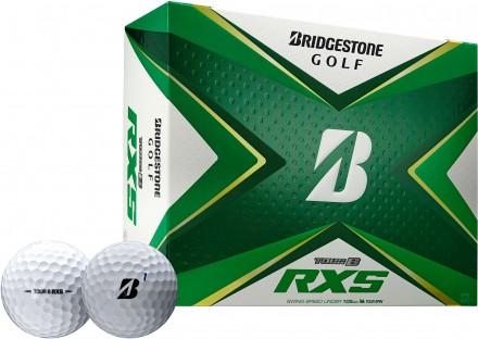 Bridgestone Tour B RXS Golfbälle, white