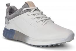 ecco Golf S-Three Gore-Tex Golfschuh, white/mirage