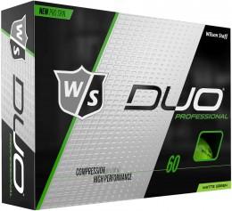 Wilson DUO Professional Golfbälle, green