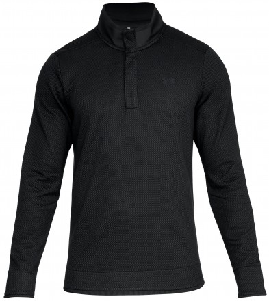Under Armour Storm Sweaterfleece Snap Mock, black