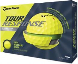 TaylorMade Tour Response Golfbälle, yellow