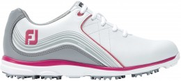FootJoy PRO/SL Golfschuh, W, white/grey/fuchsia