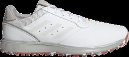 adidas S2G SPKL Golfschuh, white/grey/red