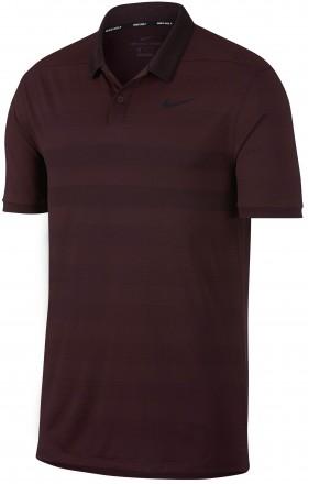Nike Zonal Cooling Polo, burgundy/black