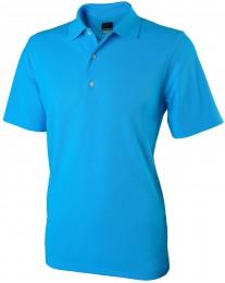 Greg Norman Performance Micro Pique Polo, caribean blue