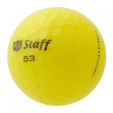 50 Wilson Fifty Elite Lakeballs, yellow