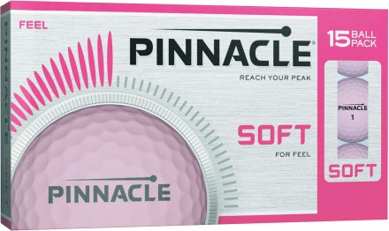 Pinnacle Soft Women Golfbälle, pink