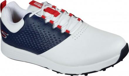 Skechers Elite 4 Golfschuh, white/navy/red