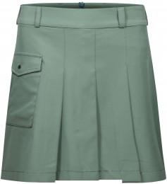 Cross Pleat Skort, green