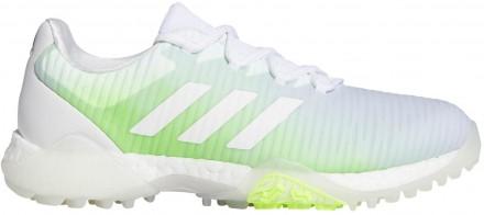 adidas Codechaos Golfschuh, white/white/green