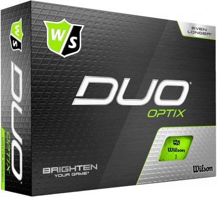 Wilson DUO Optix Golfbälle, green