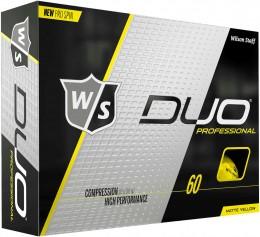 Wilson DUO Professional Golfbälle, yellow