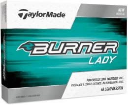 12 (neue) TaylorMade Burner Lady, pearlescent white