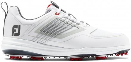 FootJoy FJ Fury Golfschuh, M, white/red