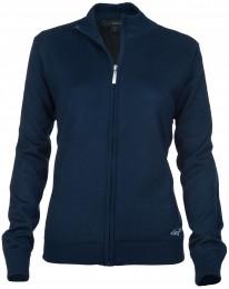 Greg Norman Women Windbreaker Lined Full-Zip Sweater, navy
