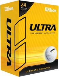 Wilson Ultra Distance Golfbälle, white