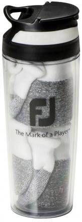 FootJoy Multipack 2 x ProDry Sport Roll Tab Socke + Trinkflasche