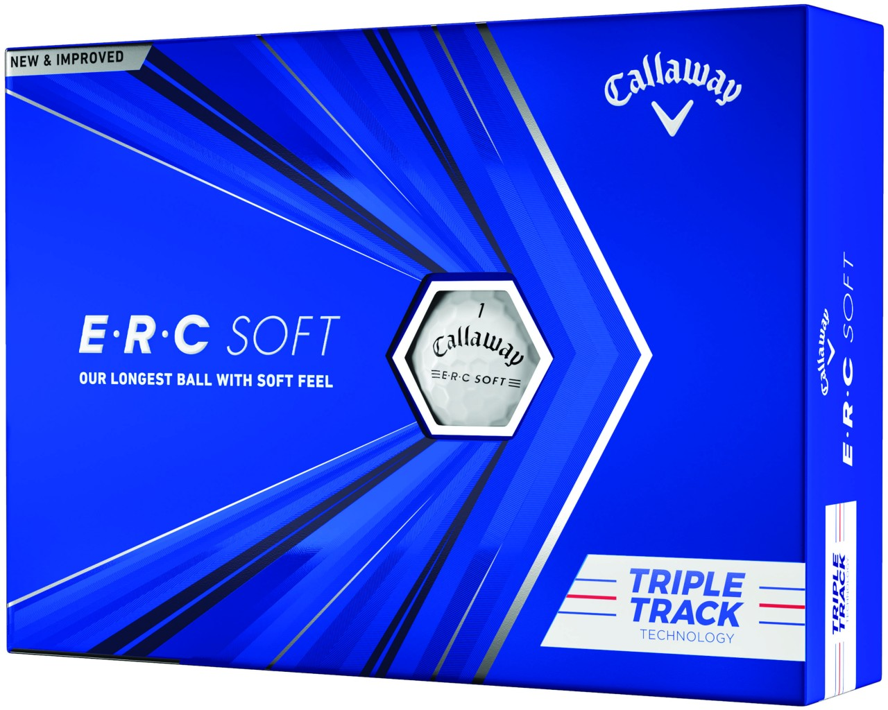 Callaway E.R.C Soft Golfbälle