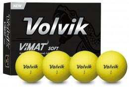 Volvik Vimat Soft Golfbälle, yellow