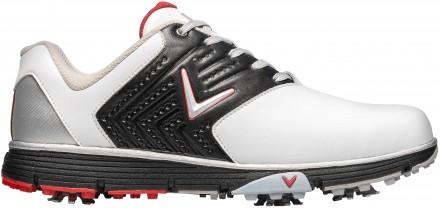 Callaway Chev Mulligan S Golfschuh, white/black/red