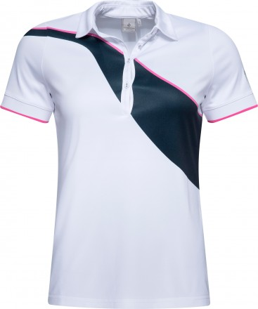 Cross Wave Polo, white