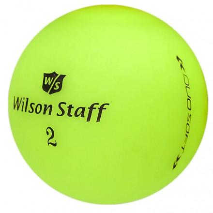 Wilson Staff DUO Soft Golfbälle, Optix green