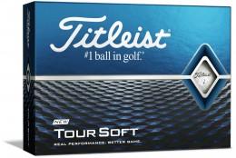 Titleist Tour Soft Golfbälle, white