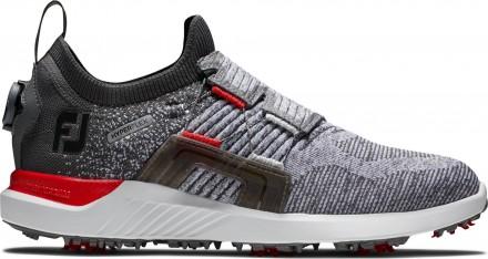 FootJoy Hyperflex BOA Golfschuh, M, grey/red