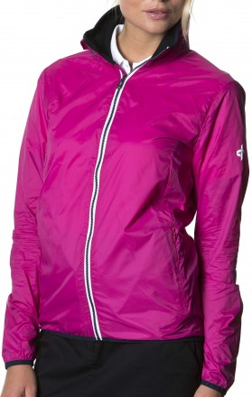 Cross Brass Jacket, 317 cerise