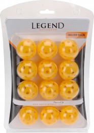 Legend 12 Übungsbälle, Gelb