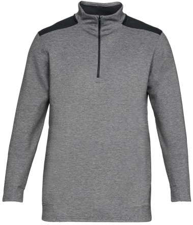 Under Armour Storm Playoff 1/2 Zip, charcoal/black