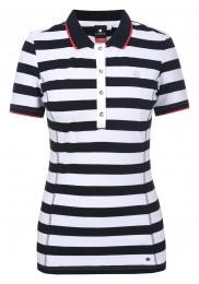 Luhta Aatila Polo, navy/white/red