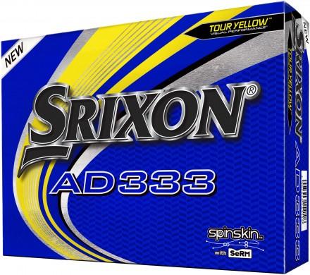 Srixon AD333 Golfbälle, yellow