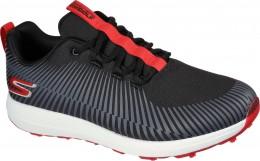 Skechers Max Bolt Golfschuh, black/red