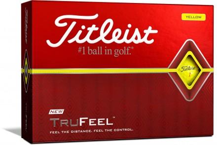 Titleist TruFeel Golfbälle, yellow