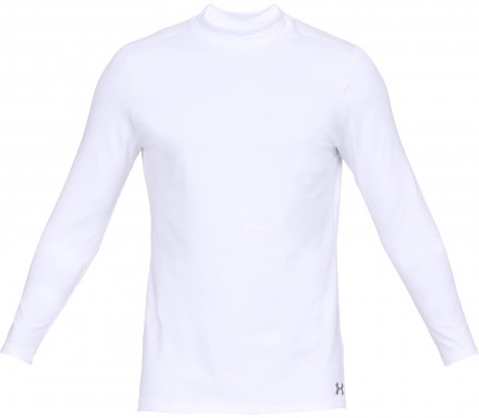 Under Armour CG Armour Mock fitted, white/steel
