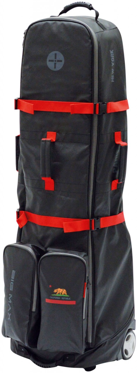 Big Max Dri Lite Travelcover, black/red