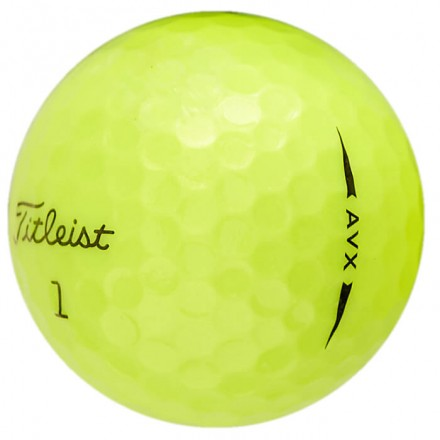25 Titleist AVX Lakeballs, yellow