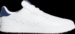 adidas Adicross Retro Golfschuh, white/silver/indigo