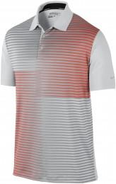 Nike Innovation Sub Print Polo, grey/orange/silver