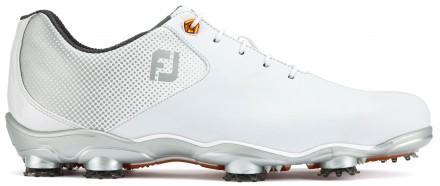 FootJoy D.N.A. Helix Golfschuh, M, white/silver
