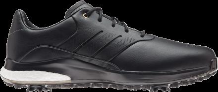 adidas Performance Classic Golfschuh, black/black/metallic