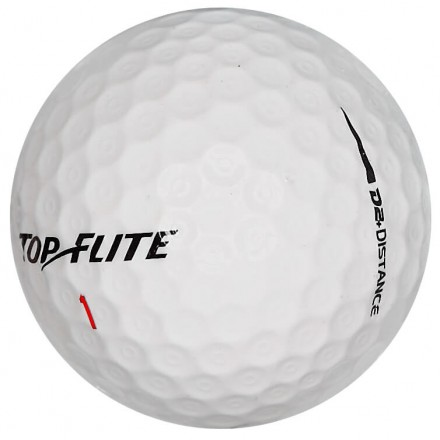 50 Top-Flite D2 Distance Lakeballs