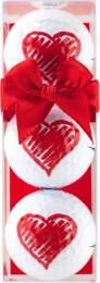 Sportiques 3er Ball-Geschenkset Herz